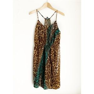 W118 BY WALTER BAKER Animal Print Milly Dress